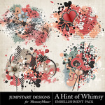 A Hint of Whimsy Artsy Splatters-$2.99 (Jumpstart Designs)