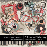 A Hint of Whimsy Embellishment Pack 2-$3.49 (Jumpstart Designs)