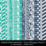 Circa Designer Series 1 Paper Pack-$3.99 (Karen Lewis)