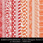 Circa Designer Series 2 Paper Pack-$3.99 (Karen Lewis)