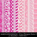 Circa Designer Series 3 Paper Pack-$3.99 (Karen Lewis)