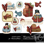 Winter Wonderland Embellishment Pack-$3.49 (Karen Lewis)