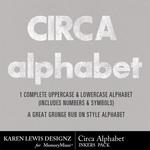 Circa Grunge Alpha Inker Pack-$0.99 (Karen Lewis)