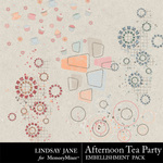 Afternoon Tea Party Scatterz-$1.99 (Lindsay Jane)