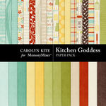 Kitchen Goddess Paper Pack 1-$1.75 (Carolyn Kite)