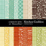 Kitchen Goddess Paper Pack 2-$3.49 (Carolyn Kite)