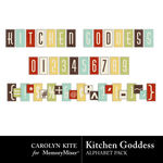 Kitchen Goddess Alpha Pack-$2.00 (Carolyn Kite)
