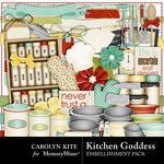 Kitchen Goddess Embellishment Pack-$3.49 (Carolyn Kite)