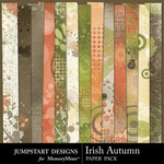 Irish Autumn Paper Pack-$3.49 (Jumpstart Designs)