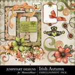 Irish Autumn Spare Parts-$2.49 (Jumpstart Designs)