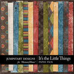 Its the Little Things Grunge Paper Pack-$3.49 (Jumpstart Designs)