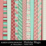 Holiday Magic Paper Pack-$1.99 (Karen Lewis)