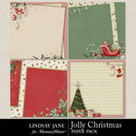 Jolly Christmas Deco Paper Pack-$1.99 (Lindsay Jane)