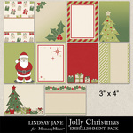 Jolly Christmas Journals-$1.99 (Lindsay Jane)