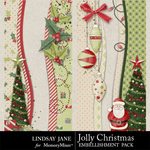 Jolly Christmas Borders-$1.99 (Lindsay Jane)