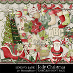 Jolly Christmas Embellishment Pack-$3.49 (Lindsay Jane)
