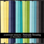 Seriously Amazing Plain Paper Pack-$3.49 (Jumpstart Designs)