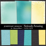 Seriously Amazing Fun Paper Pack-$3.49 (Jumpstart Designs)