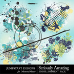Seriously Amazing Splatters-$2.49 (Jumpstart Designs)