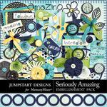 Seriously Amazing Embellishment Pack-$4.99 (Jumpstart Designs)