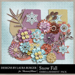 SnowFall Flowers and Bits-$2.49 (Laura Burger)