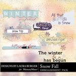 SnowFall WordArt-$2.49 (Laura Burger)