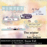 SnowFall WordArt-$2.49 (Laura Burger)