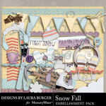 SnowFall Embellishment Pack-$3.49 (Laura Burger)