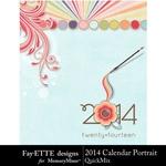 2014 Calendar Por FayETTE-$4.99 (Fayette Designs)