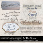 At The Shore WordArt-$1.25 (Laura Burger)