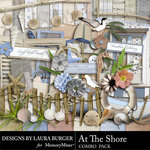 At The Shore Combo Pack-$3.99 (Laura Burger)