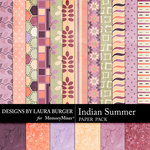 Indian Summer Add On Paper Pack-$3.49 (Laura Burger)