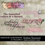 Indian Summer WordArt-$2.49 (Laura Burger)