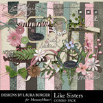 Like Sisters Combo Pack-$2.00 (Laura Burger)