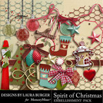 Spirit of Christmas Embellishment Pack 2-$3.49 (Laura Burger)