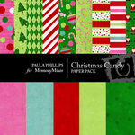 Christmas Candy Paper Pack-$3.49 (Paula Phillips)