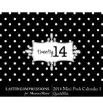 2014 Mini Posh Calendar 1 LS-$1.99 (Lasting Impressions)