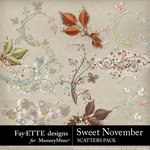 Sweet November Scatters Pack-$1.99 (Fayette Designs)
