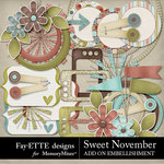 Sweet November Add On Pack-$2.99 (Fayette Designs)