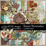 Sweet November Combo Pack-$5.99 (Fayette Designs)