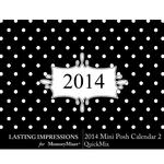 2014 Mini Posh Calendar 2 LS-$1.99 (Lasting Impressions)