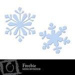 Snowflakes Freebie-$0.00 (Lasting Impressions)