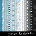 The Moody Blues Paper Pack-$2.45 (Lindsay Jane)