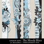 The Moody Blues Borders-$1.99 (Lindsay Jane)