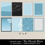 The Moody Blues Journal Cards-$1.99 (Lindsay Jane)