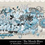 The Moody Blues Embellishment Pack-$2.45 (Lindsay Jane)