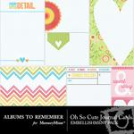 Oh So Cute Journal Cards-$2.49 (Albums to Remember)