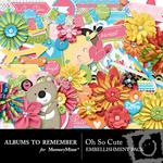Oh So Cute Embellishment Pack-$3.49 (Albums to Remember)