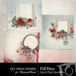 Fall Days Quick Pages-$3.49 (Fly Pixel Studio)