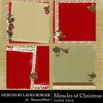 Miracle of Christmas Stacked Paper Pack-$2.45 (Laura Burger)
